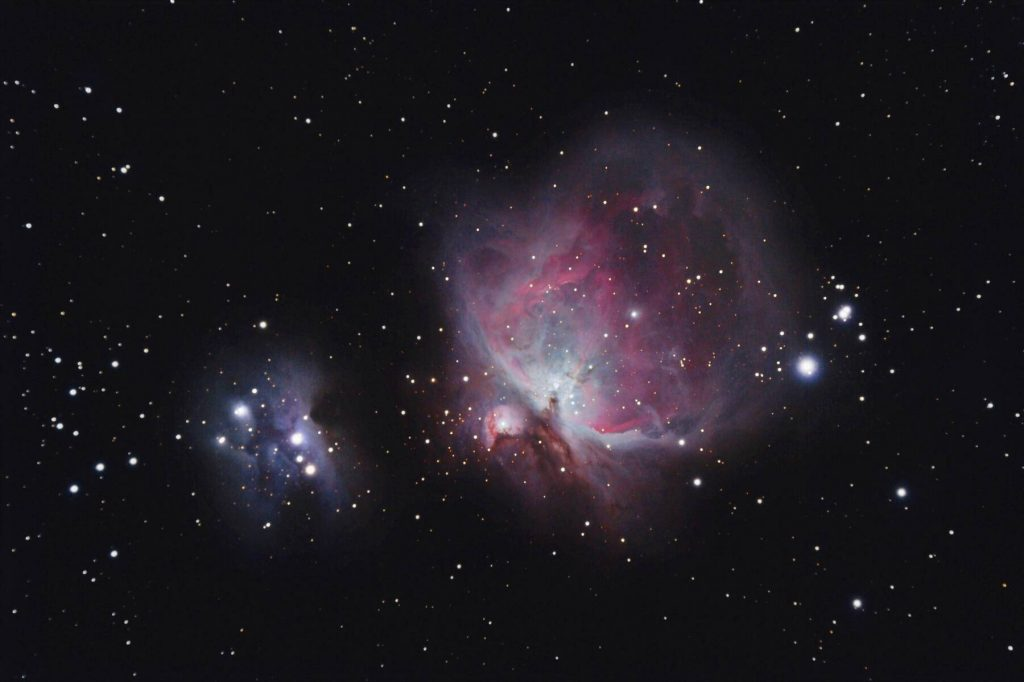 Real Orion Nebula photography taken with telescope - DHCF00004