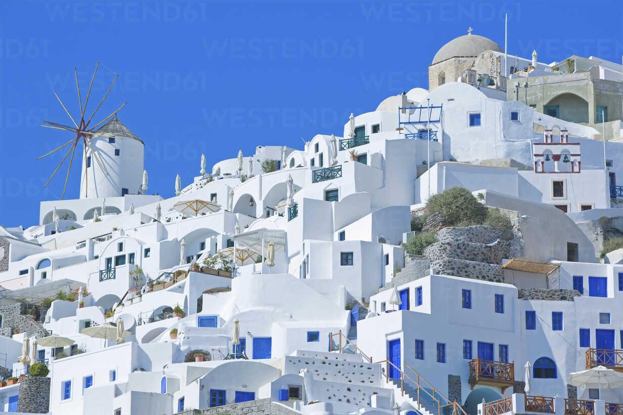 Oia village, Santorini, Greece, lizenzfreies Stockfoto