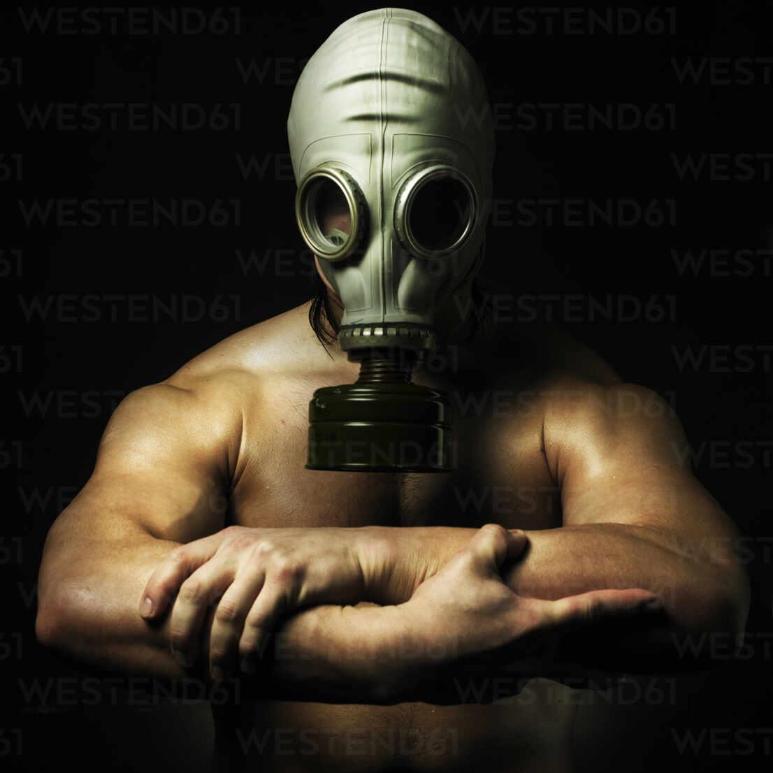 Gas Mask Nude